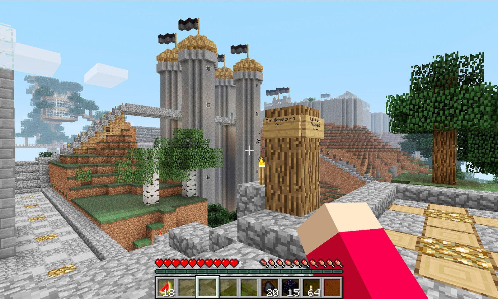 EINMALIGE VERWENDUNG Screenshot Minecraft Multiplayer 2