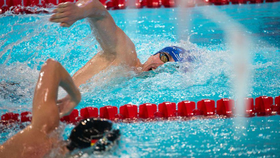 Biedermann: Über 400 Meter Freistil Zweiter hinter Rapp