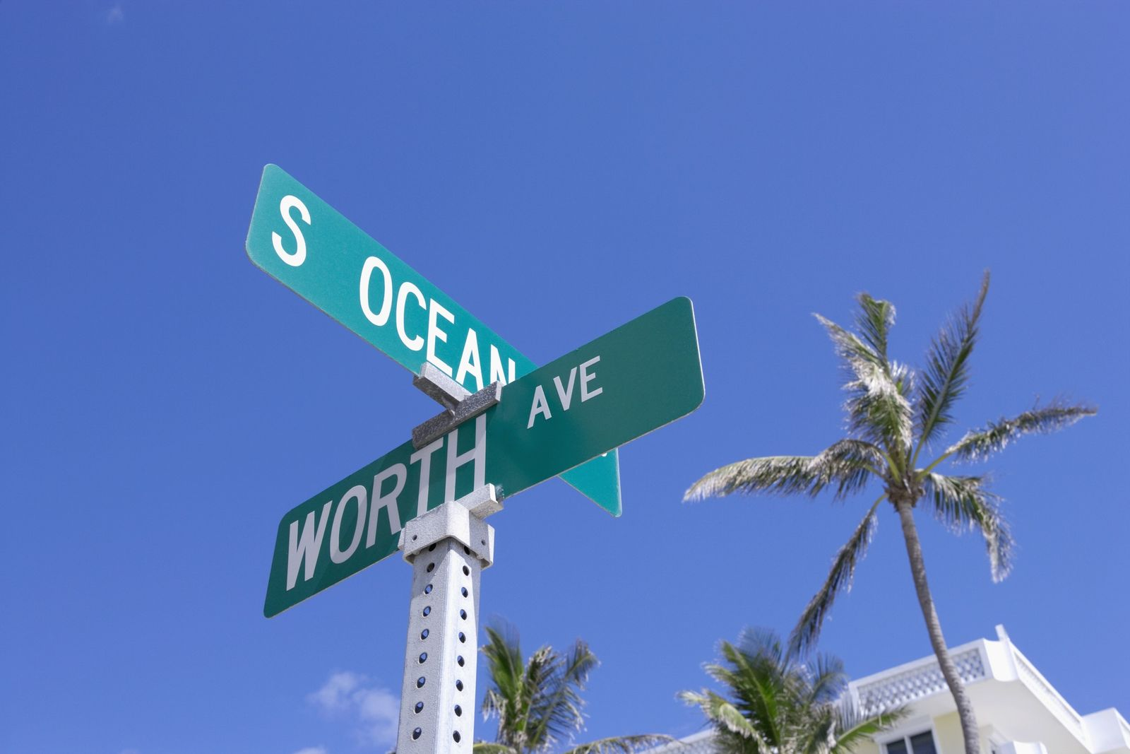 NICHT MEHR VERWENDEN! - Palm Beach/ STrassenschild