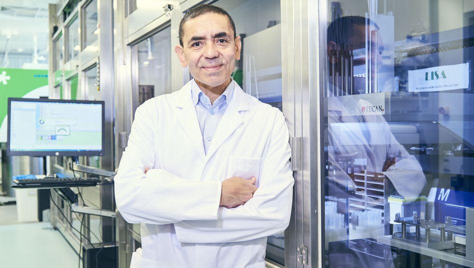 Wissenschaftler Sahin