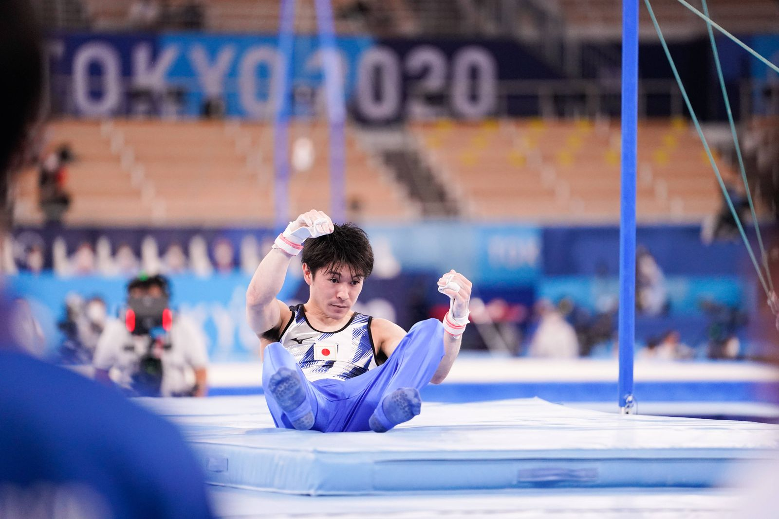 Kohei Uchimura (JPN), JULY 24, 2021 - Gymnastics - Artistic : Men s Qualification during the Tokyo 2020 Olympic Games, O