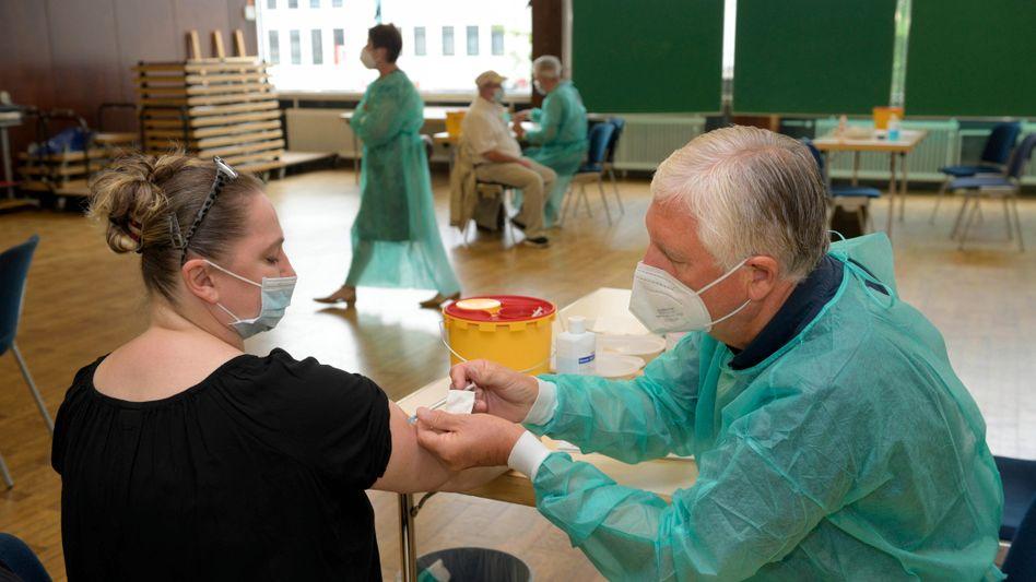 Impfung in Bonn