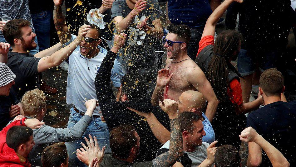 Englische Fußball-Fans