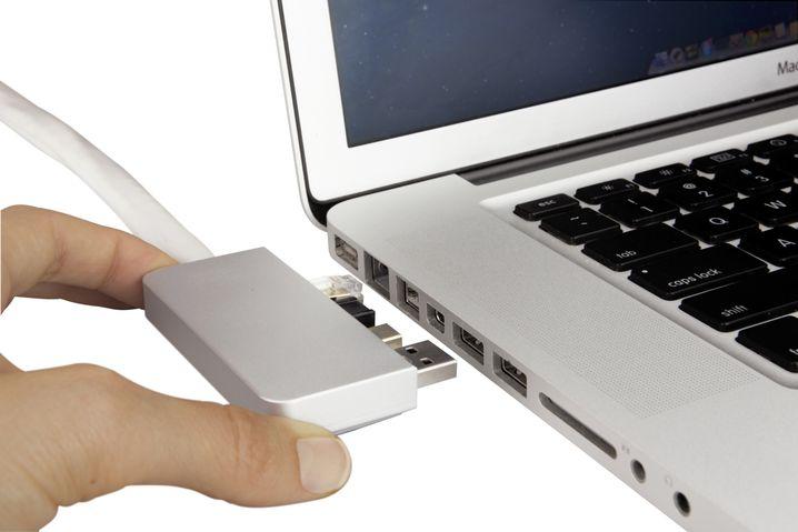 ZenDock: Docking-Stecker für MacBooks