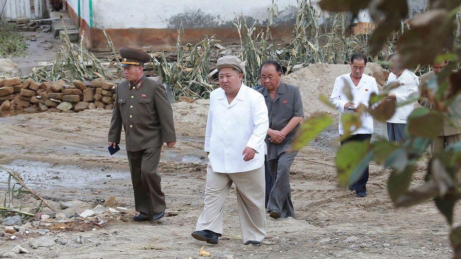 Kämpft gegen Corona und Naturgewalten: Kim Jong Un
