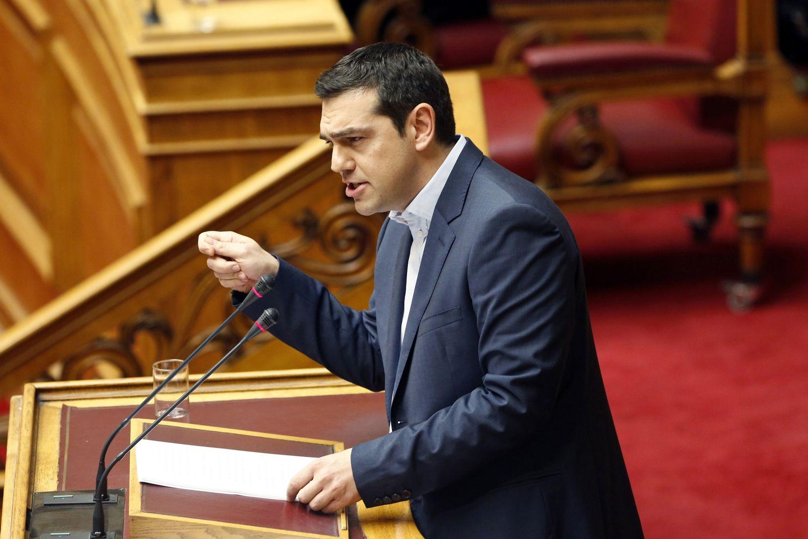 Tsipras/ Parlament