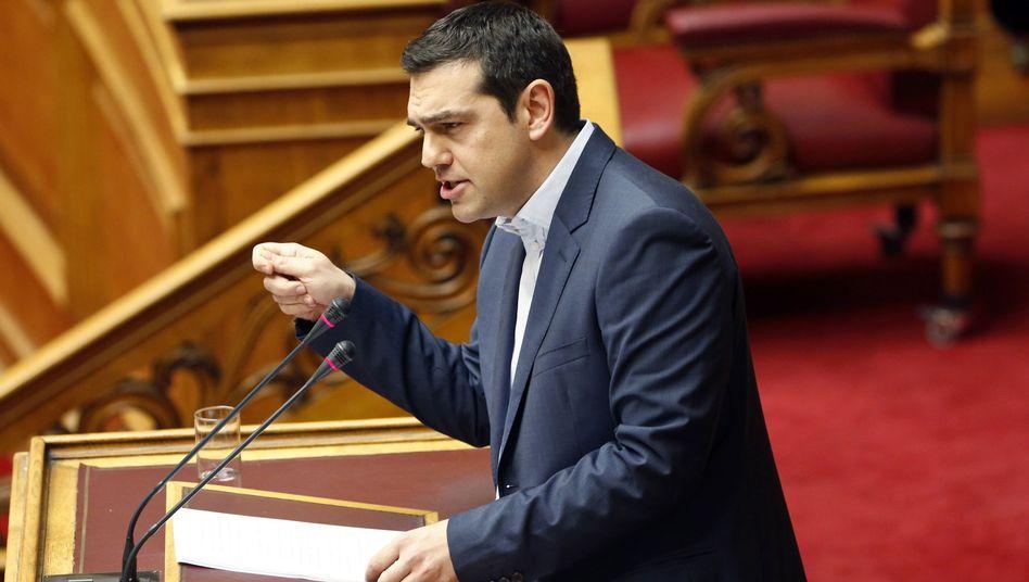 """Ministerpräsident Tsipras: """"Die Rettungsprogramme haben versagt"""""""
