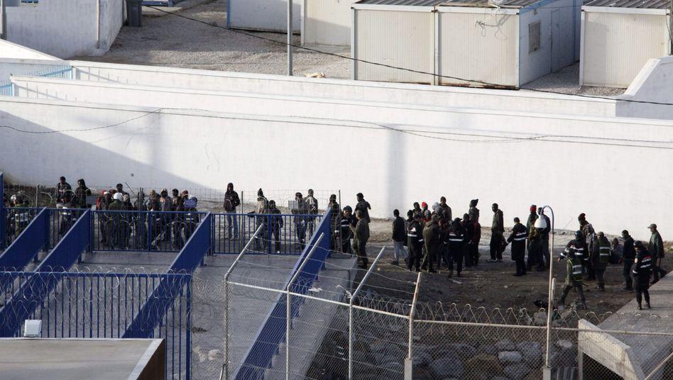 Flüchtlinge auf marokkanischem Territorium: Tausende verfehlten ihr Ziel Ceuta