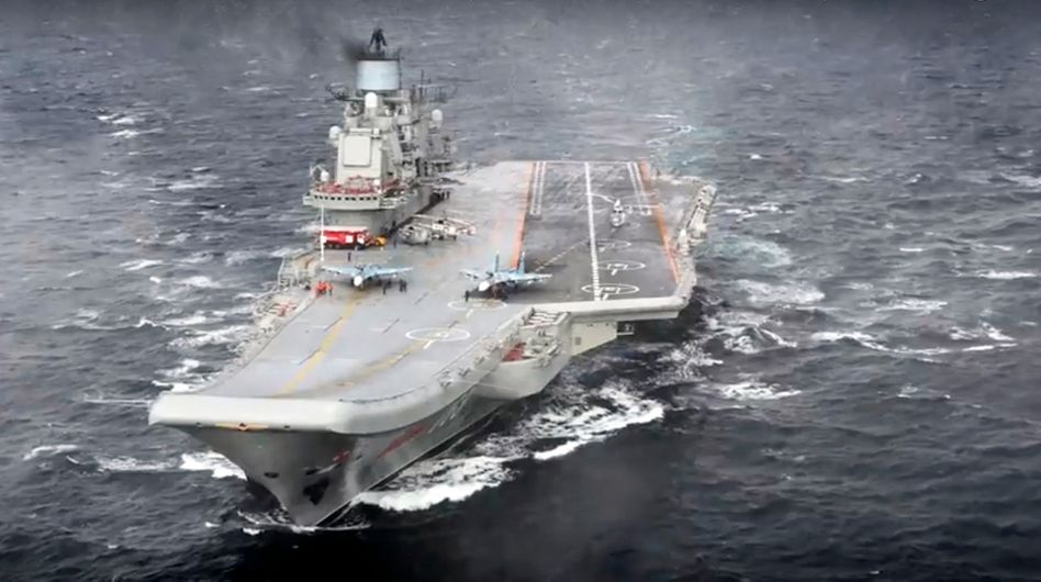 """Flugzeugträger """"Admiral Kusnezow"""""""