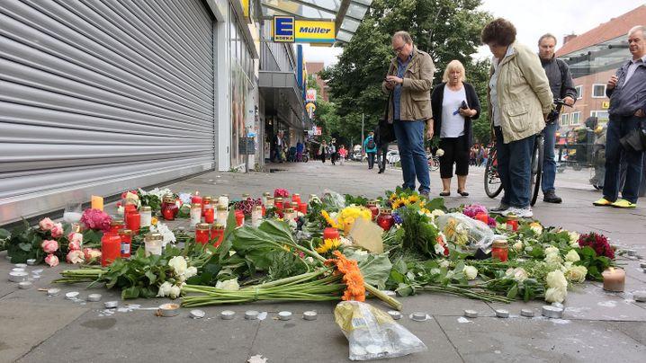 Messerattacke in Hamburg: Angriff beim Einkauf