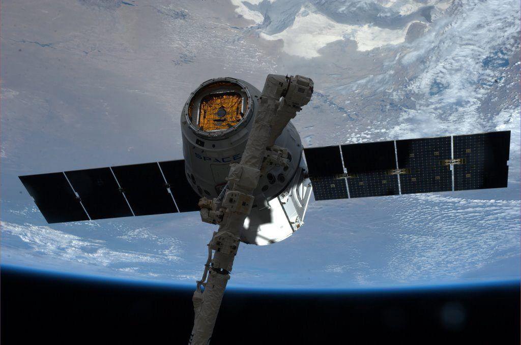 Raumfrachter «Dragon»