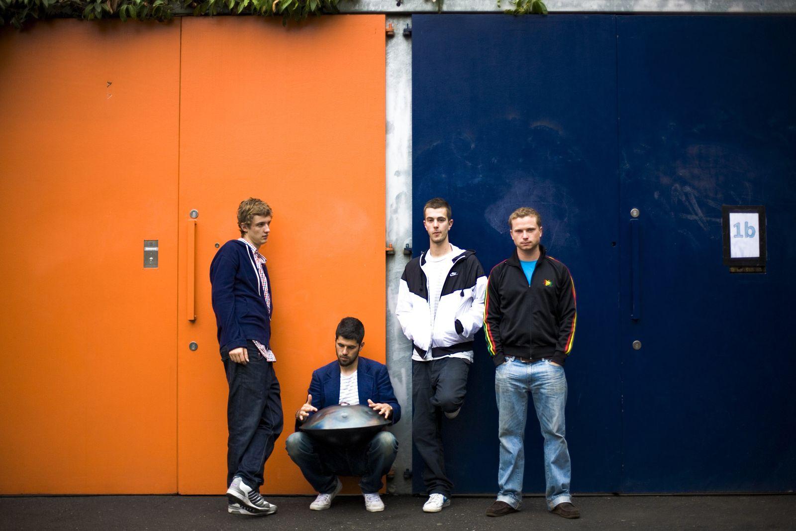 EINMALIGE VERWENDUNG Portico Quartet