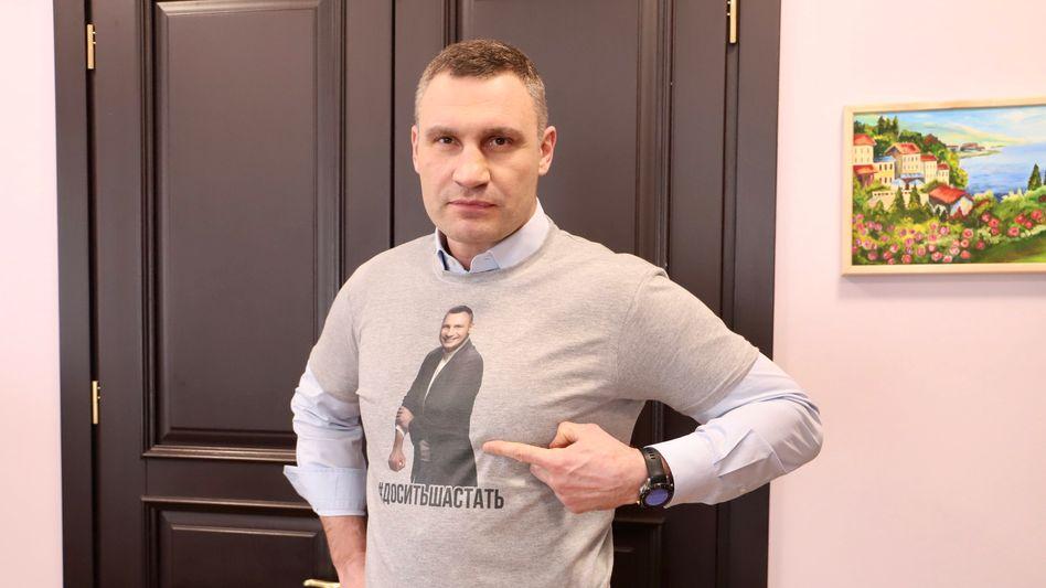 Kiews Bürgermeister Vitali Klitschko