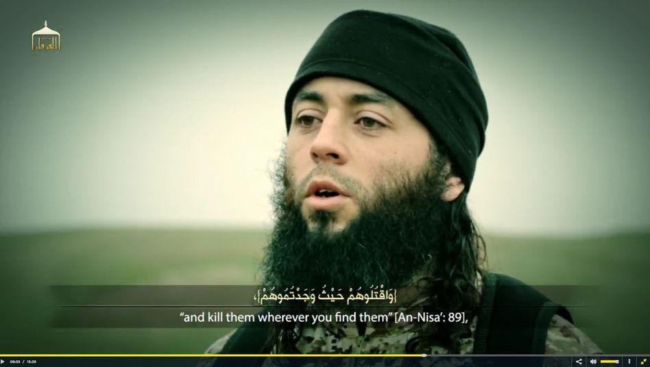 Neustes IS-Video: Der Franzose, der die Hinrichtung ankündigt, soll der Halbbruder des Attentäters von Toulouse 2012 sein