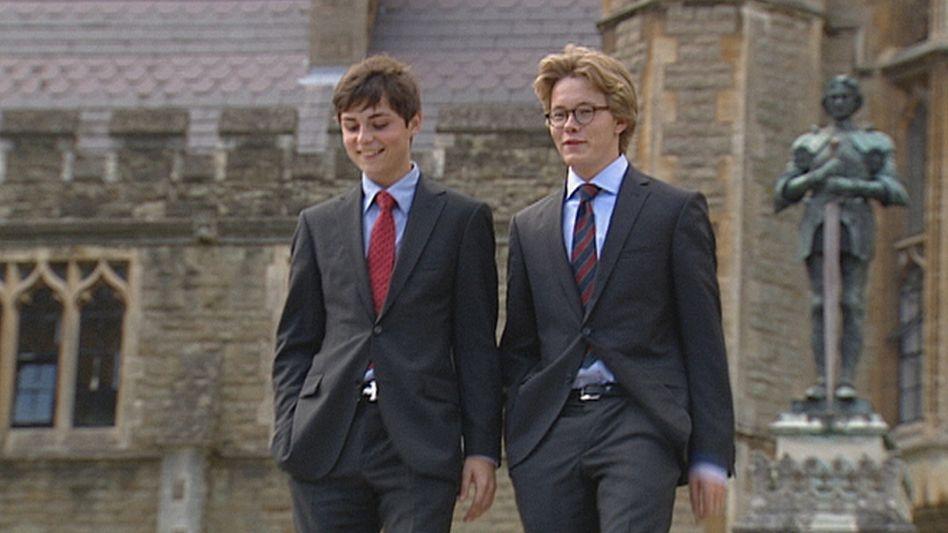 Internatsschüler: Britische Privatschulen stehen hoch im Kurs