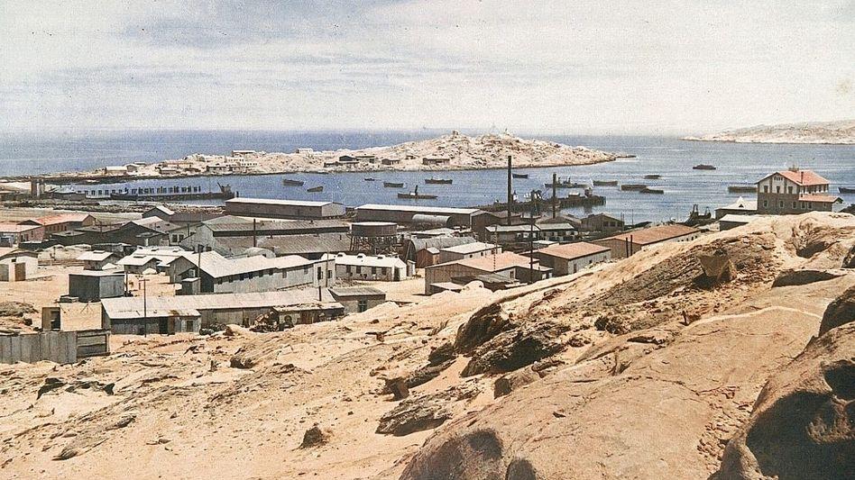 Lüderitzbucht (1910): Das Areal war die Keimzelle der späteren Kolonie.