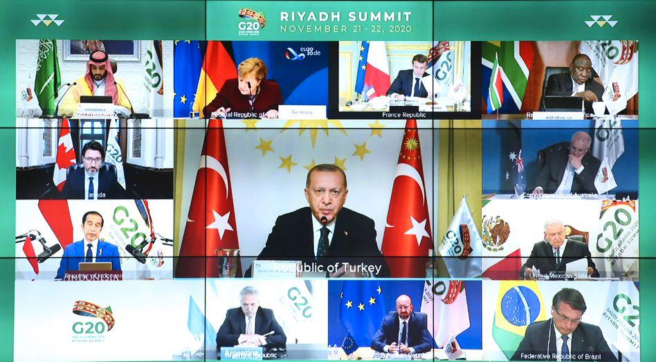Virtueller G20-Gipfel (im November 2020)