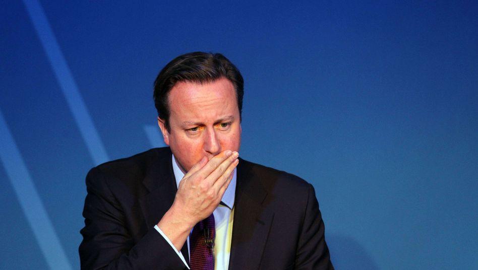 """David Cameron: """"Wer nicht hier ist, um zu arbeiten, wird entfernt"""""""