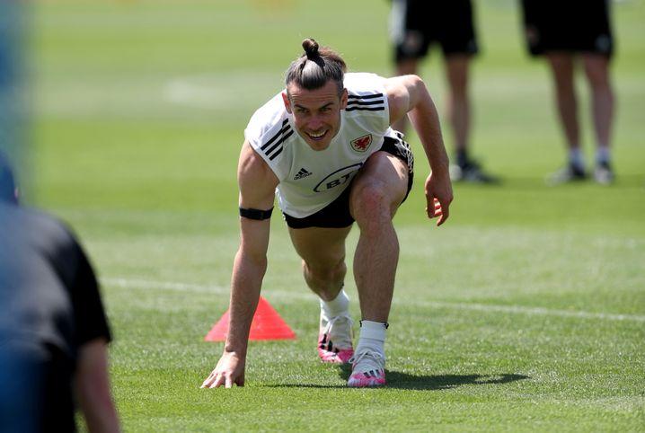 Gareth Bale bei der EM-Vorbereitung in Baku