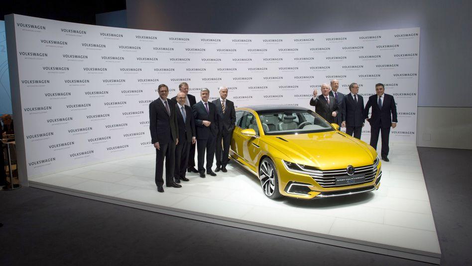 Früherer Vorstand der Volkswagen AG (März 2015 in Berlin)