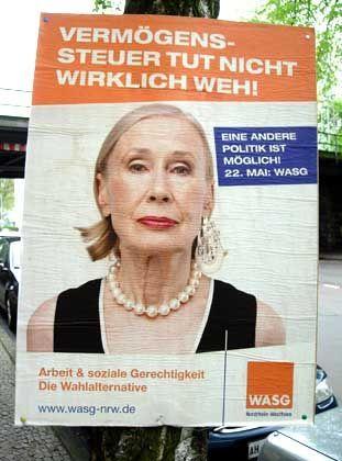 WASG-Wahl-Plakat: Interne Konsequenzen?