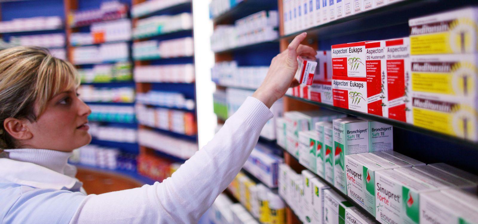 Apotheke / Arzneimittel / Medikamente