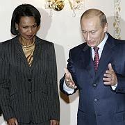 Condoleezza Rice und Wladimir Putin: Keine Annäherung in Sachen Raketenschild