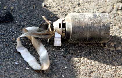 Streubombe: Bis zu 100.000 Sprengsätze noch nicht explodiert