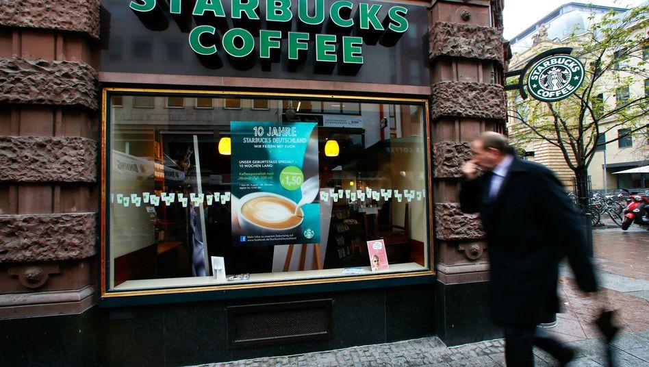 Starbucks-Filiale in Frankfurt: Testphase mit Premiumkunden geplant