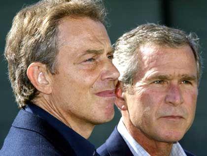 Blair und Bush: Die Verbündeten hinters Licht geführt