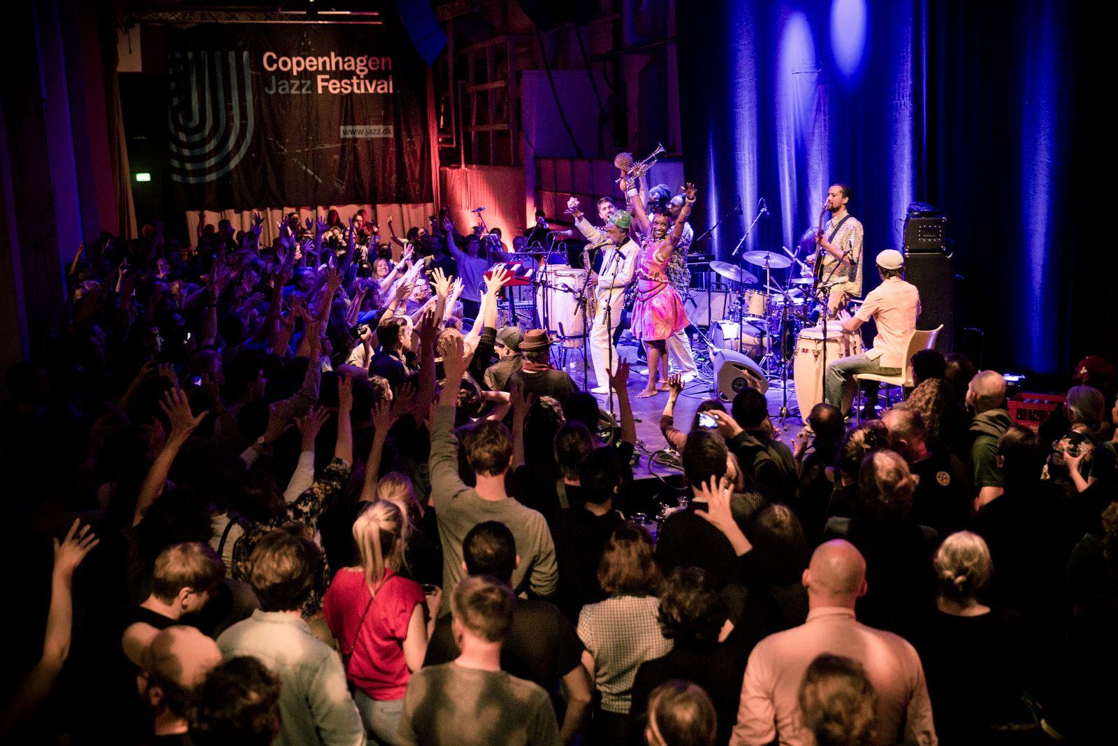 EINMALIGE VERWENDUNG Copenhagen Jazz Festival
