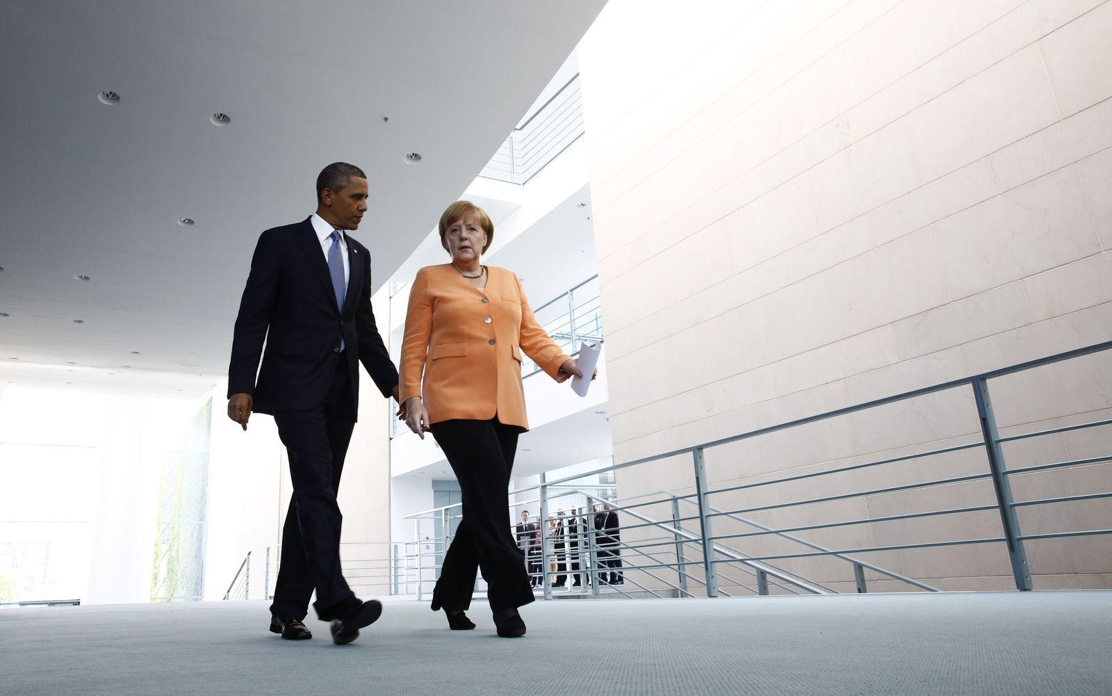 Obama / Berlin / Merkel