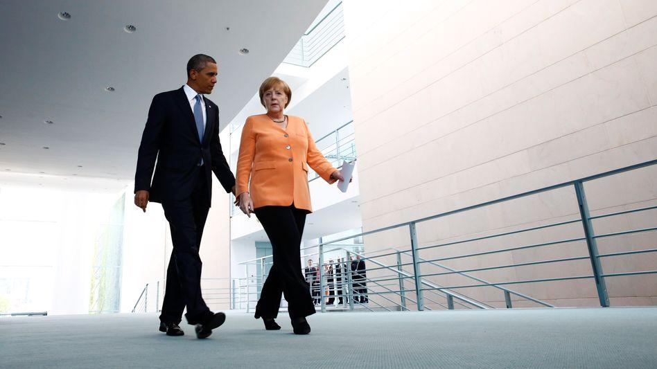 Obama und Merkel: Unangenehme Enthüllungen für den US-Präsidenten