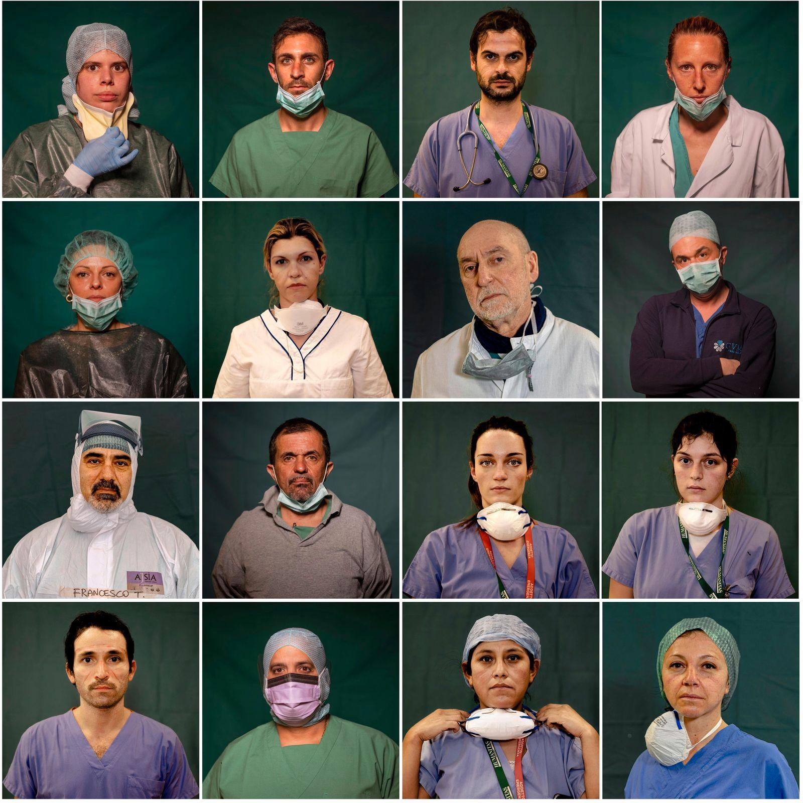APTOPIX Virus Outbreak Italy's Heroes Photo Gallery