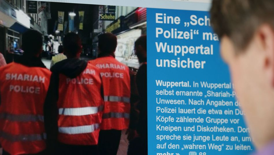 Scharia-Polizei, Wuppertal (Archivbild)