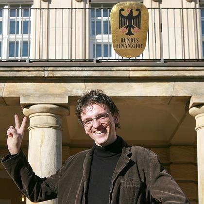 Pendlerpauschalen-Kläger Heino Hambrecht vor dem Bundesfinanzhof in München: Starke Zweifel an der Verfassungsmäßigkeit