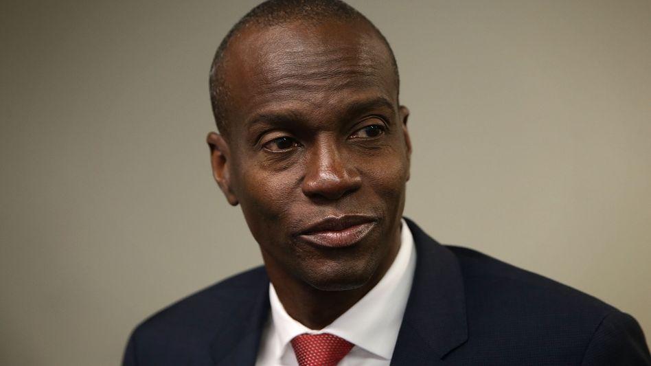Haitis Präsident Jovenel Moïse