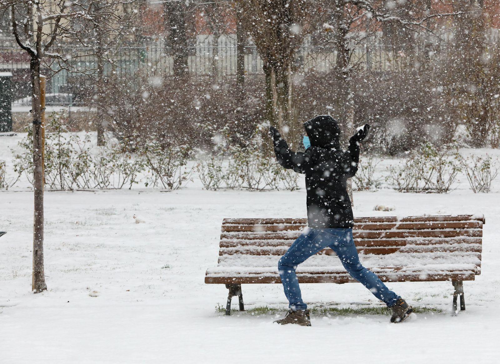 Schnee in Spanien