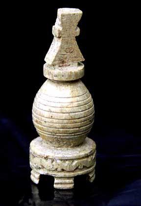 """Antike Schachfigur: """"Spiel der Schlauberger"""" seit 1500 Jahren"""
