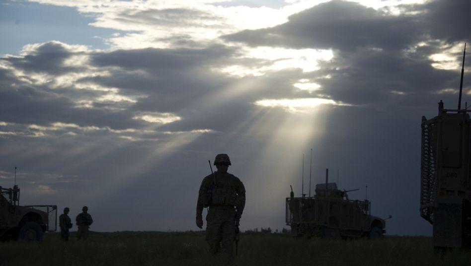 """US-Truppen beim Einsatz in Afghanistan: """"Man muss wachsam sein"""""""
