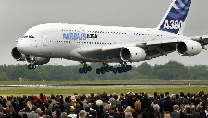Airbus A380: Dem Riesenjet droht das Aus
