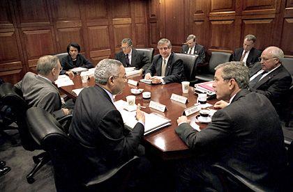 Sitzung des Nationalen Sicherheitsrats in Washington: Kein Interesse an Verträgen