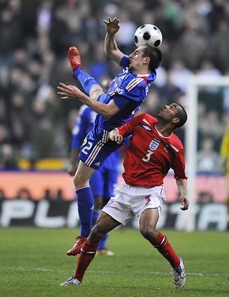 Franzose Ribéry (l.): Siegtreffer gegen England