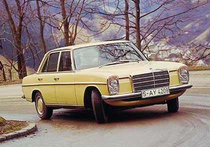 Mercedes-Benz 240 D: Ein Taxi dieses Typs erreichte die gigantische Kilometerleistung von 4,6 Millionen