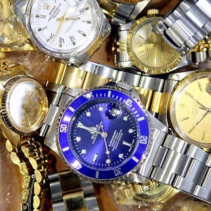 Gefälschte Rolex-Uhren: Mit Software gegen Piraten