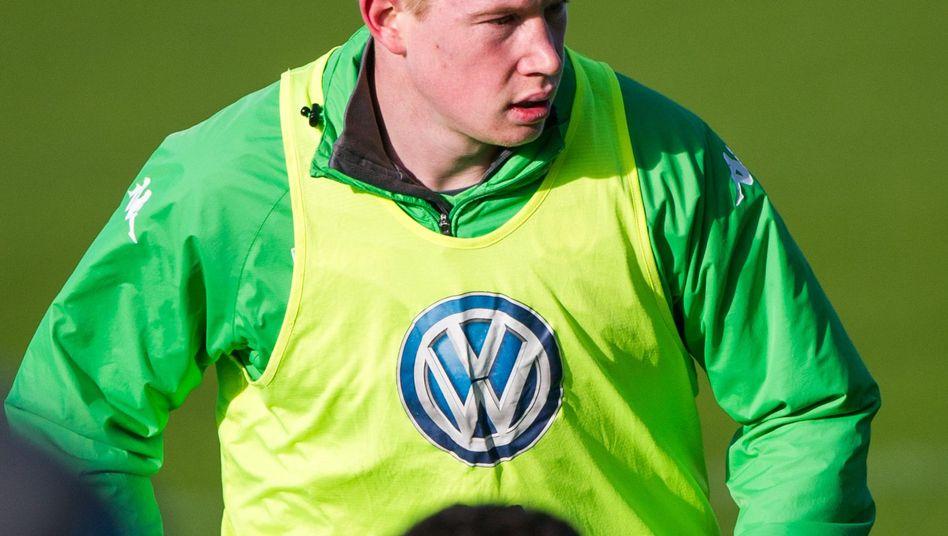 "Wolfsburg-Spieler De Bruyne: ""Give me the ball, you motherfucker"""