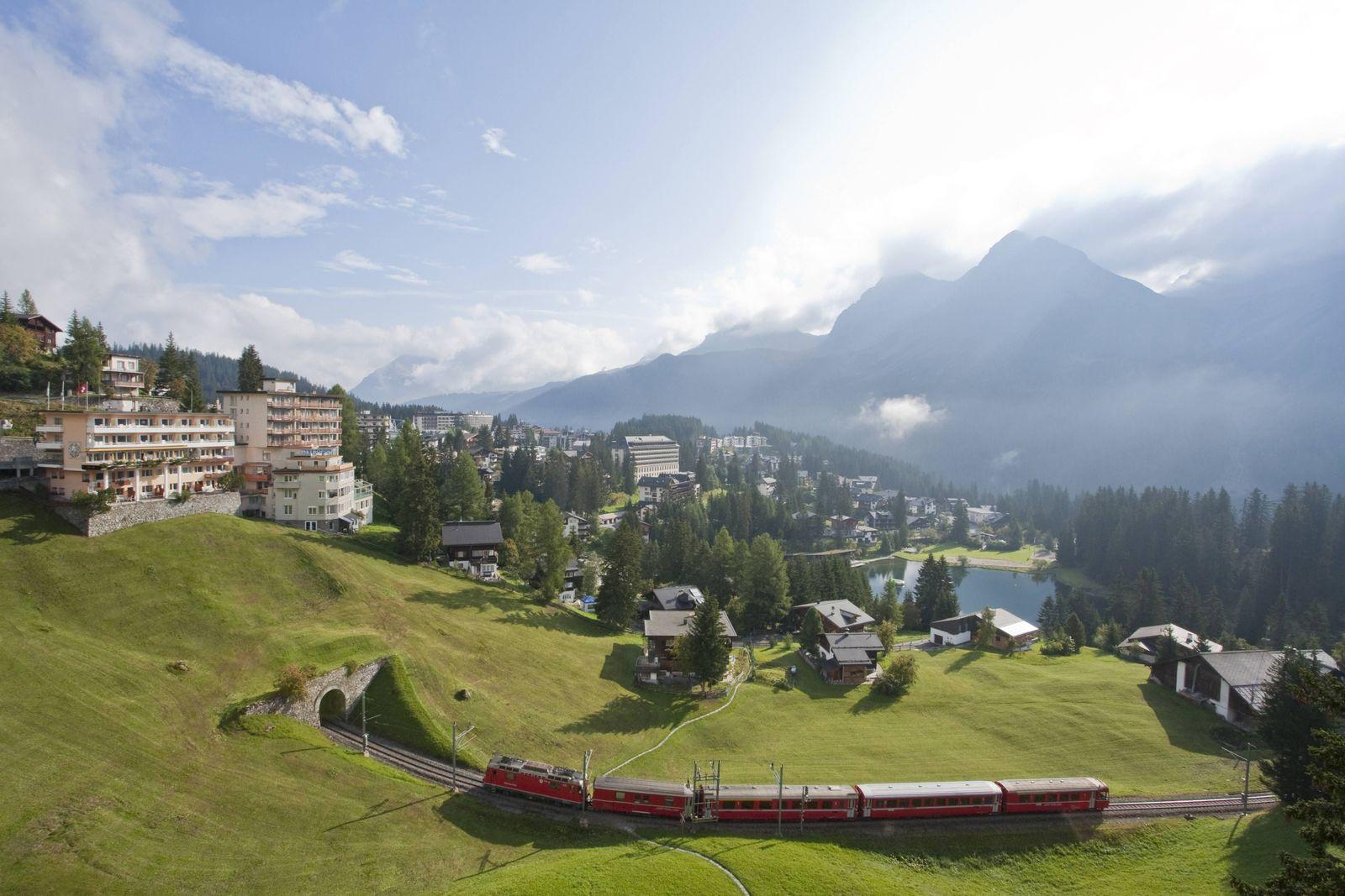 EINMALIGE VERWENDUNG Schweiz/ Arosa