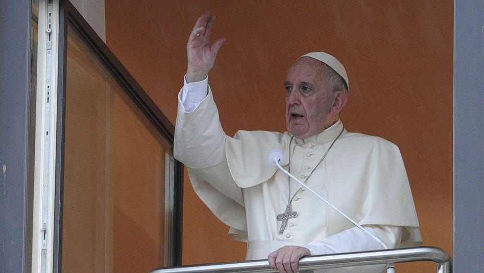 Papst Franziskus in Krakau