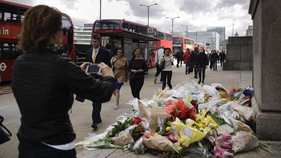 Trauer an der London Bridge