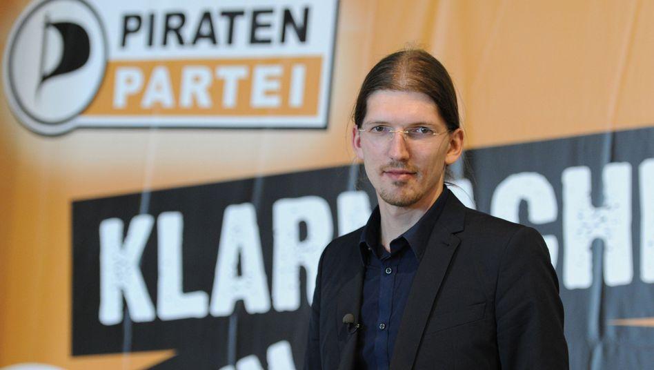 Martin Delius: Der Pirat gibt seinen Posten als Parlamentarischer Geschäftsführer auf